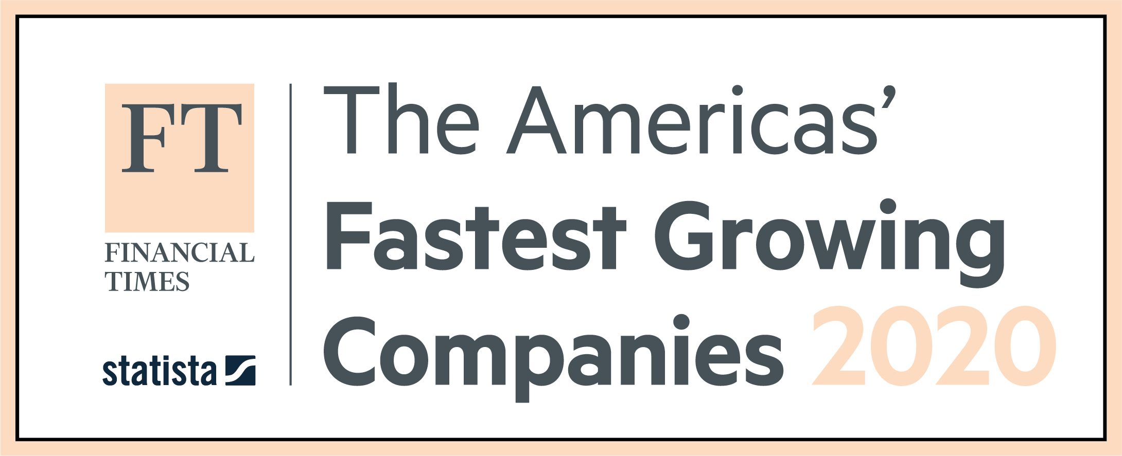 FT Americas' Fastest Growing Companies 2020